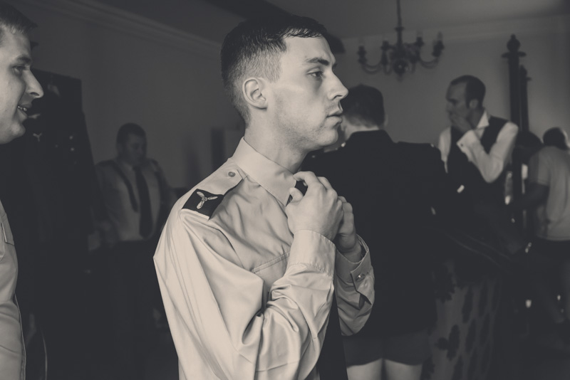 Military wedding, Cotswolds