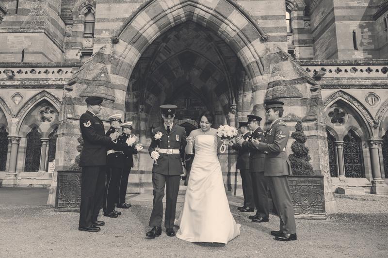 Ettington Park Hotel Military Wedding