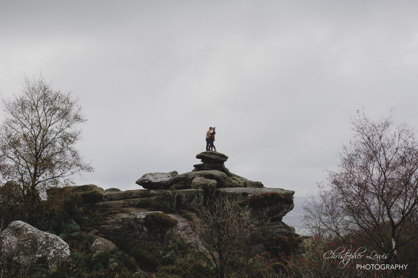 Brimham Rocks Yorkshire Pre Wedding Photoshoot 12