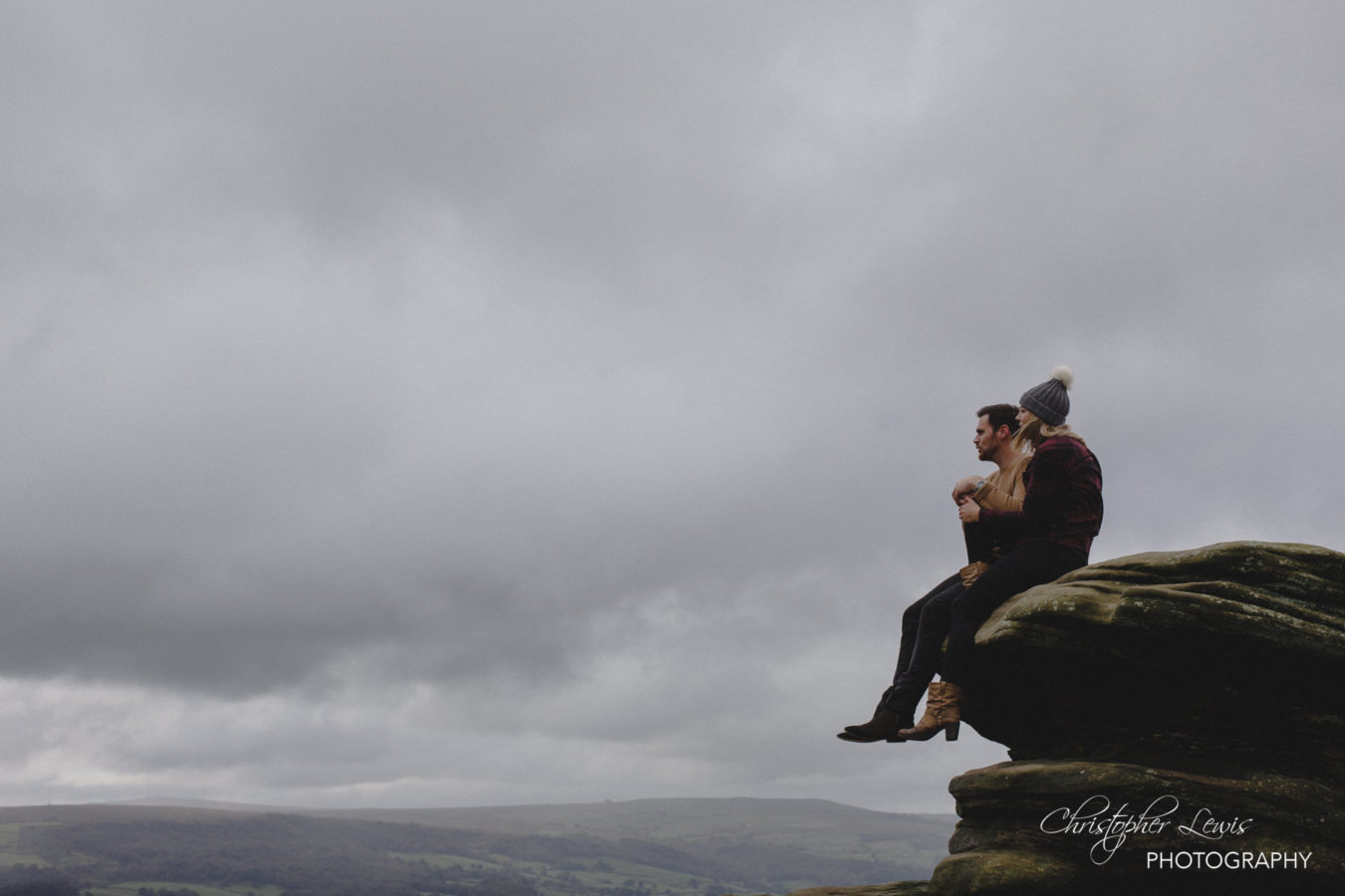 Brimham Rocks Yorkshire Pre Wedding Photoshoot 14