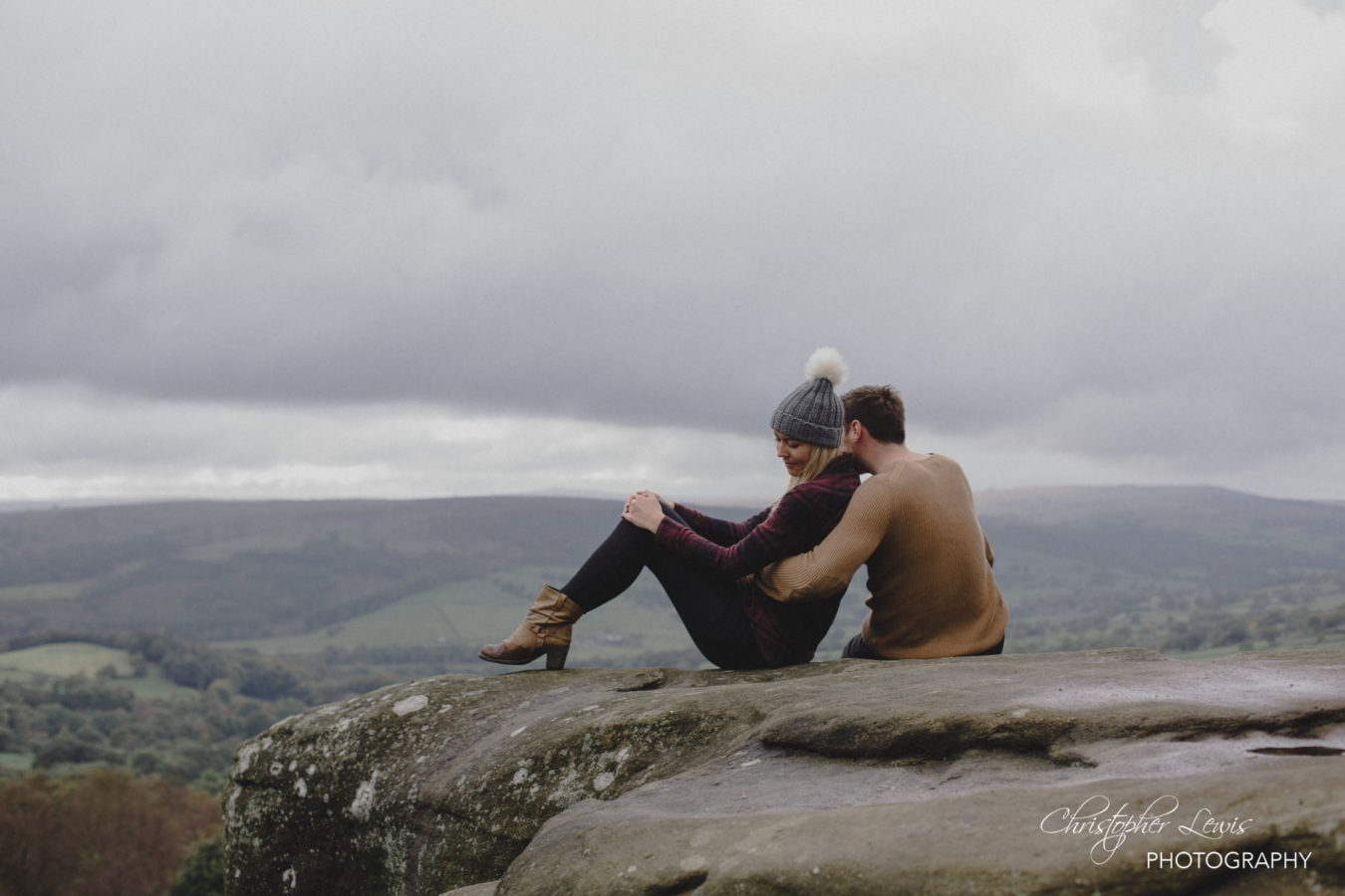Brimham Rocks Yorkshire Pre Wedding Photoshoot 20