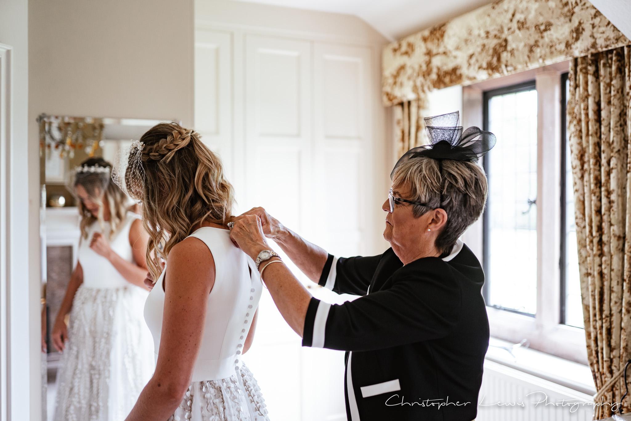 Colshaw Hall Wedding dress