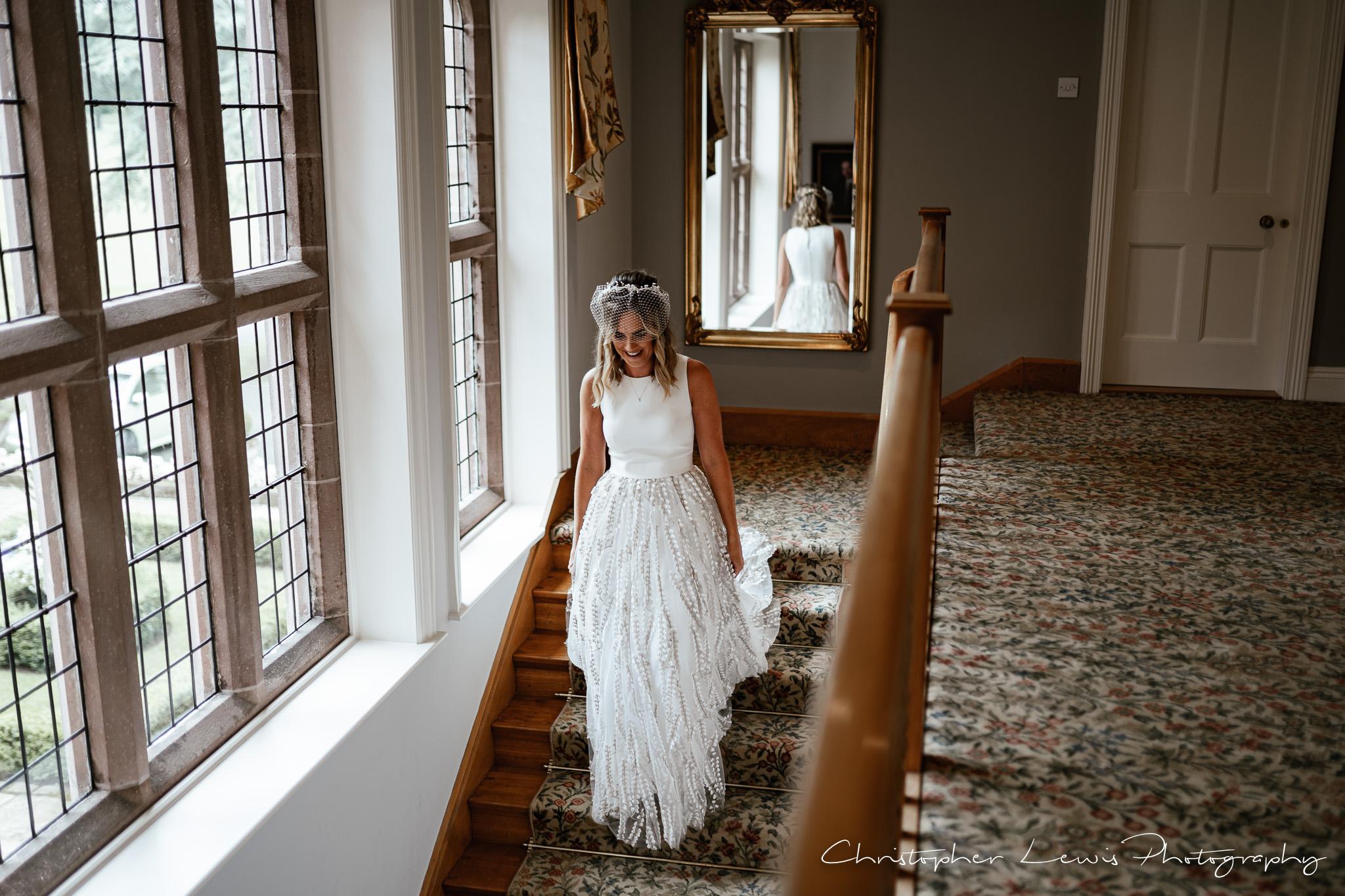 Colshaw Hall Wedding bride