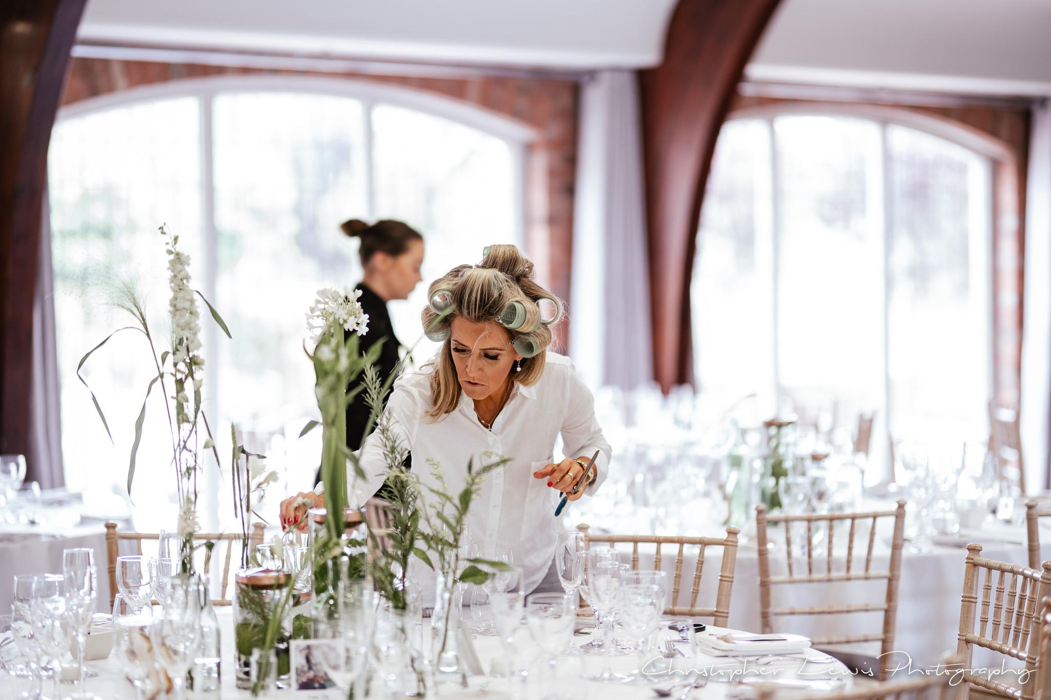 Colshaw Hall Wedding flowers