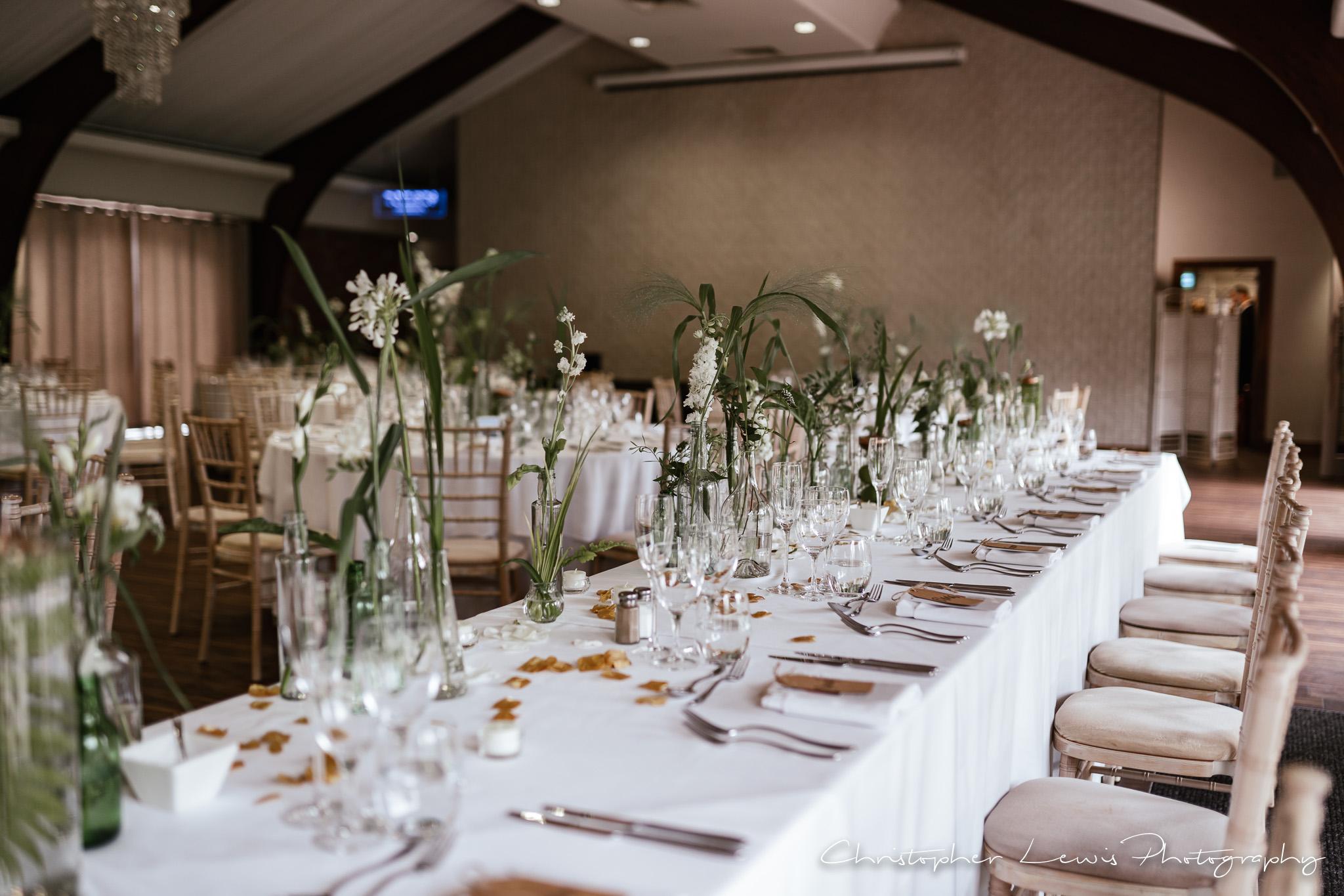 Colshaw Hall Wedding decor