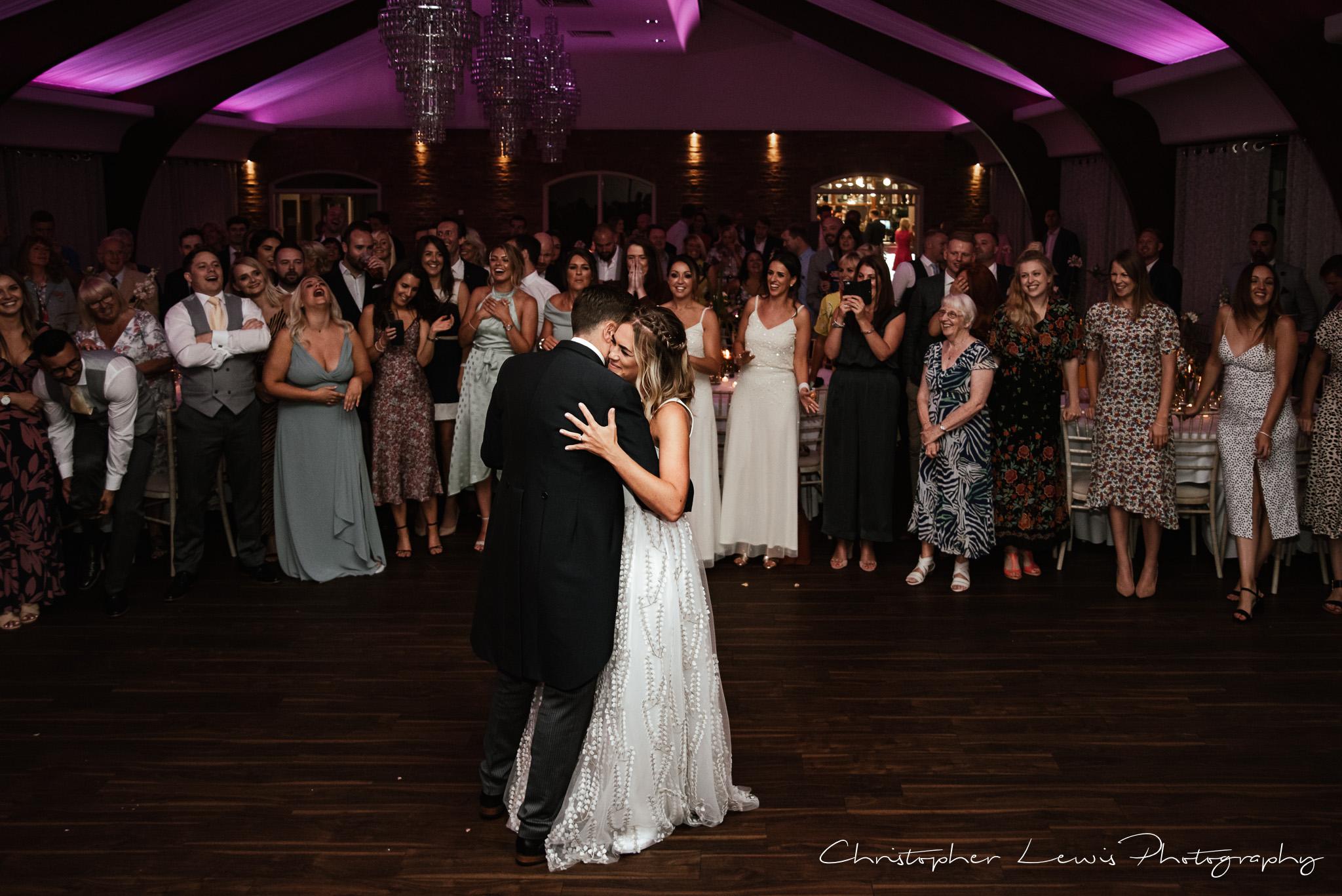 Colshaw Hall Wedding first dance