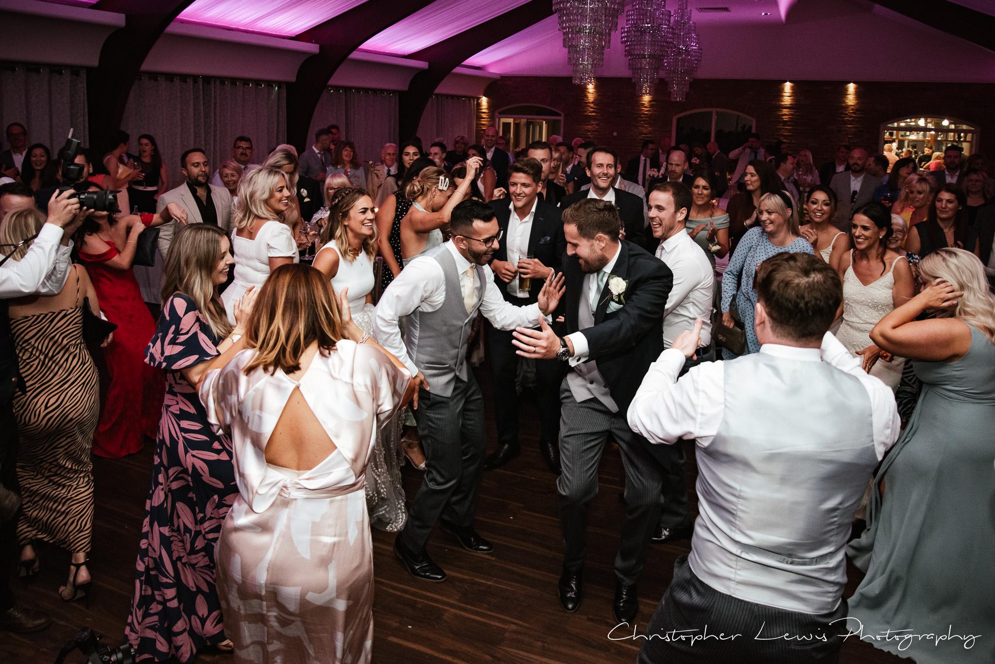 Colshaw Hall Wedding dancing