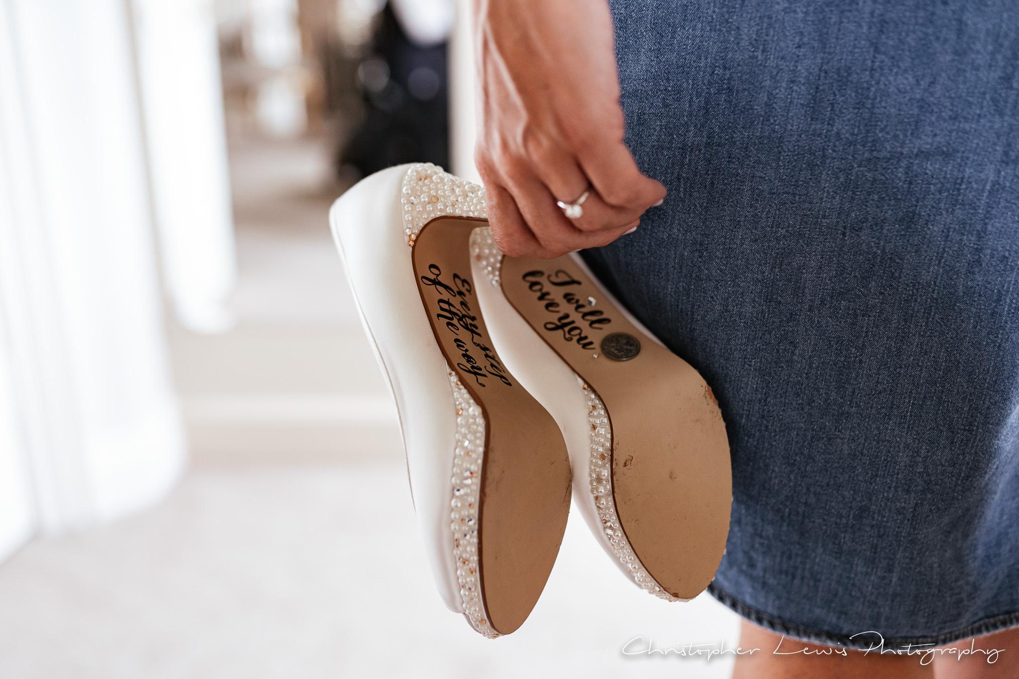 Colshaw Hall Wedding shoes