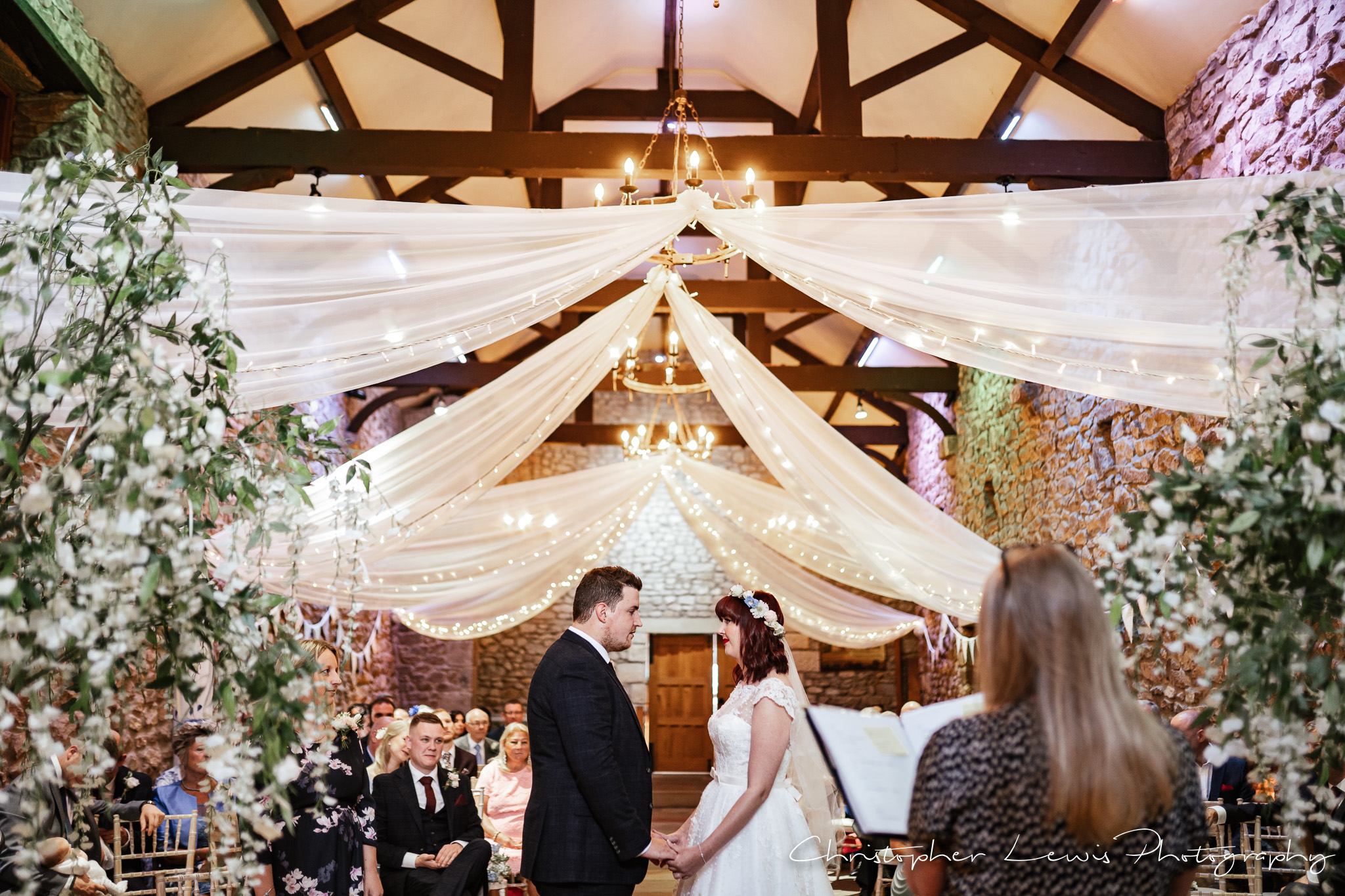 Browsholme Hall Wedding vows