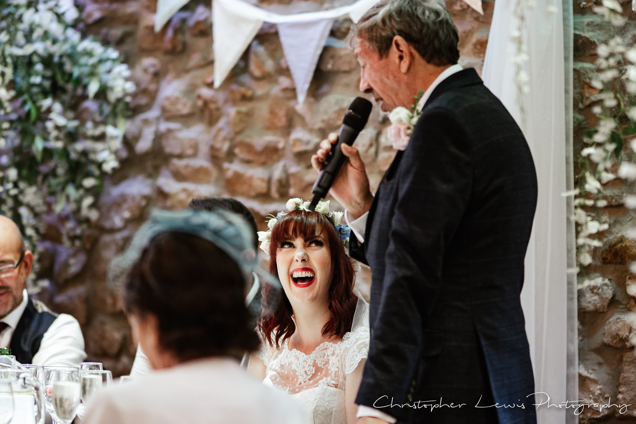 Browsholme Hall Wedding father of the bride speech