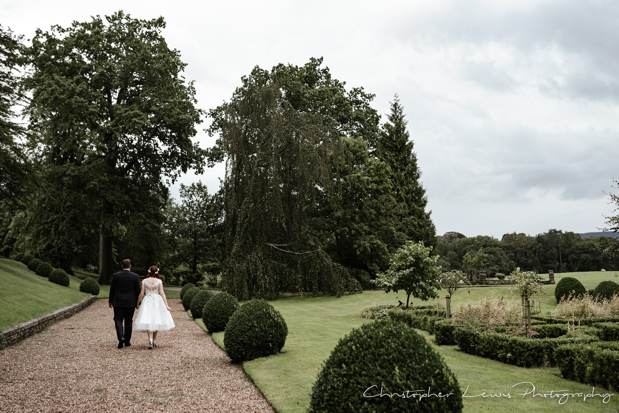 Browsholme Hall Wedding grounds