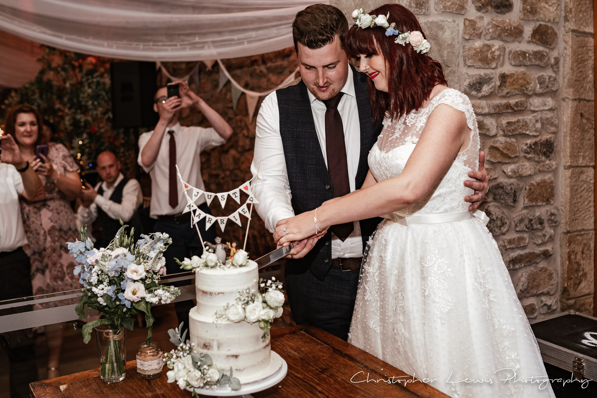 Browsholme Hall Wedding cake