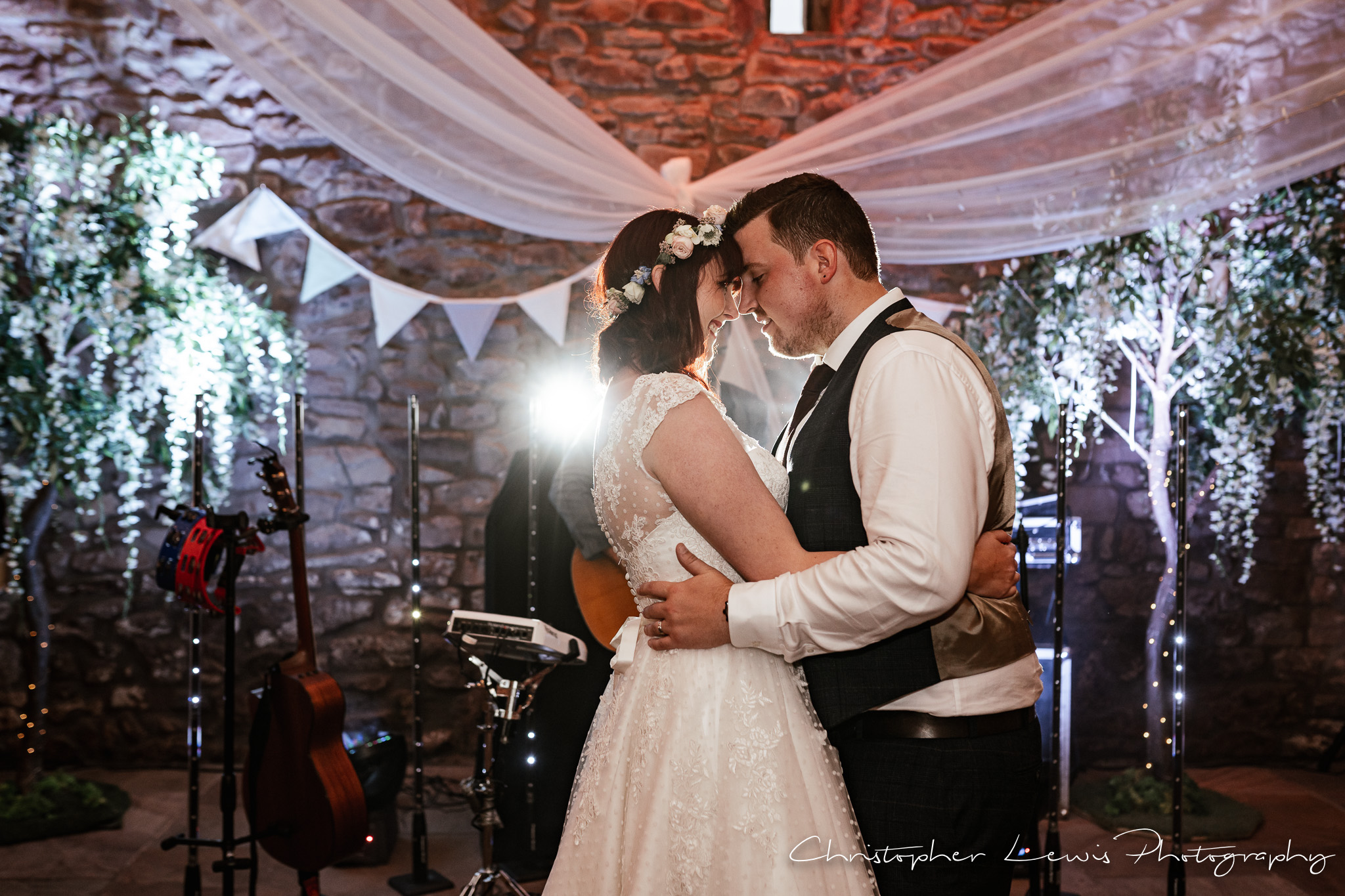 Browsholme Hall Wedding first dance