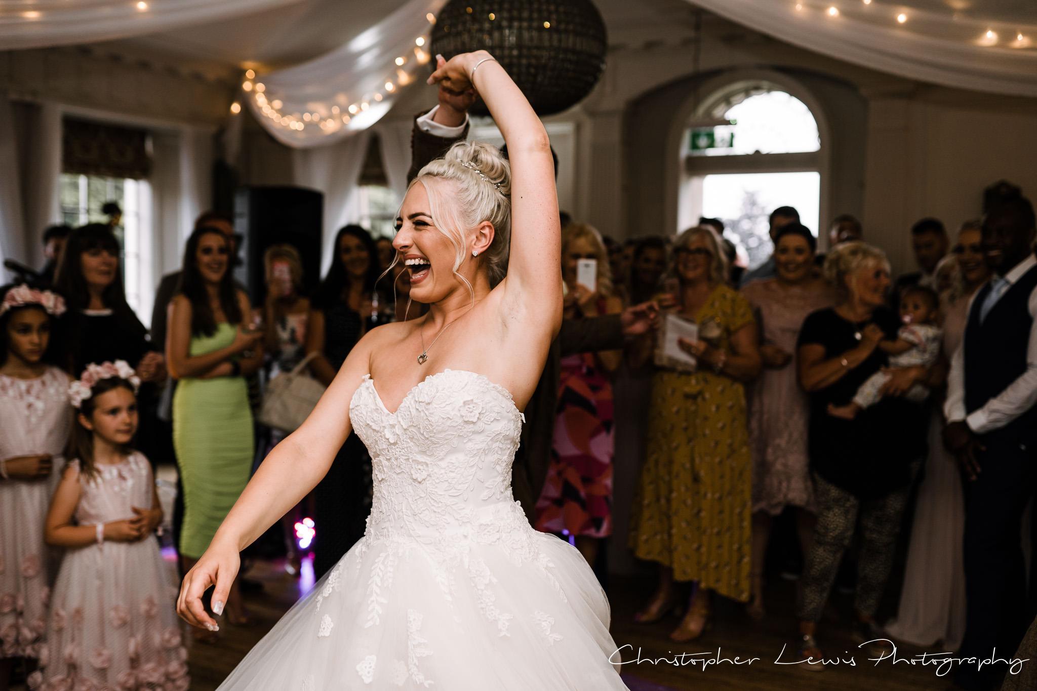 Eaves Hall Wedding Photographer