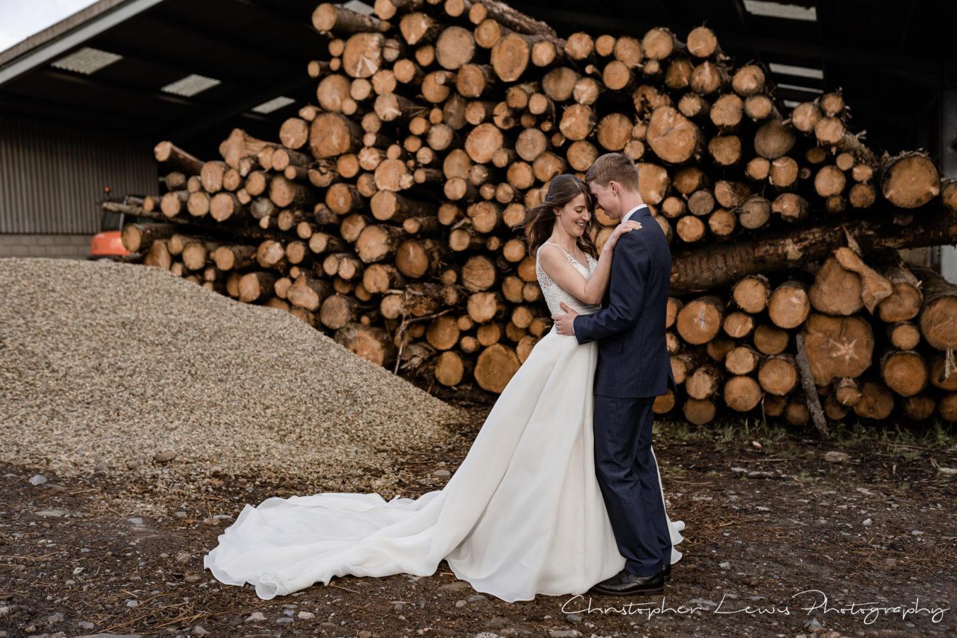 Out Barn Wedding - Clough Bottom - 49