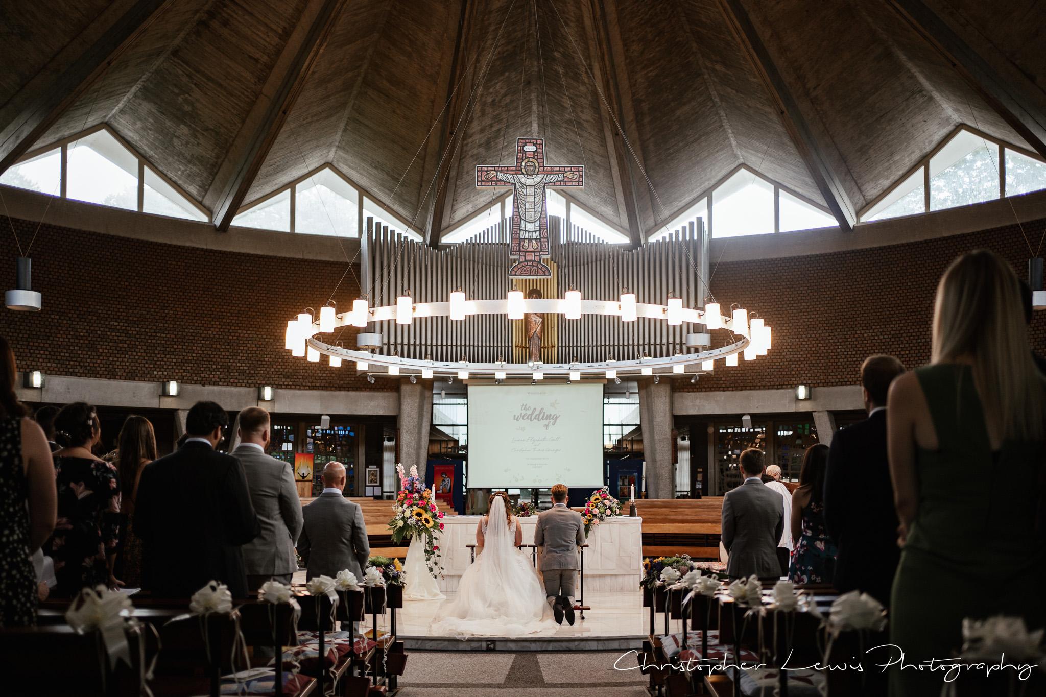 Samlesbury Hall Wedding church