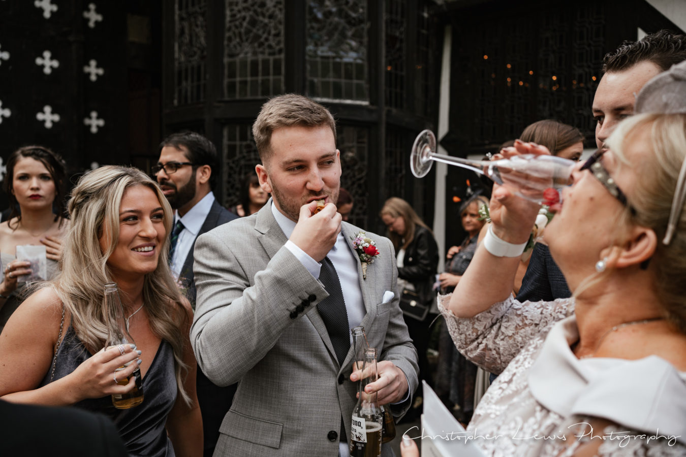 Salmesbury Hall Wedding - 25