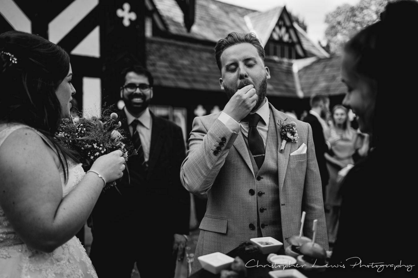 Salmesbury Hall Wedding - 38