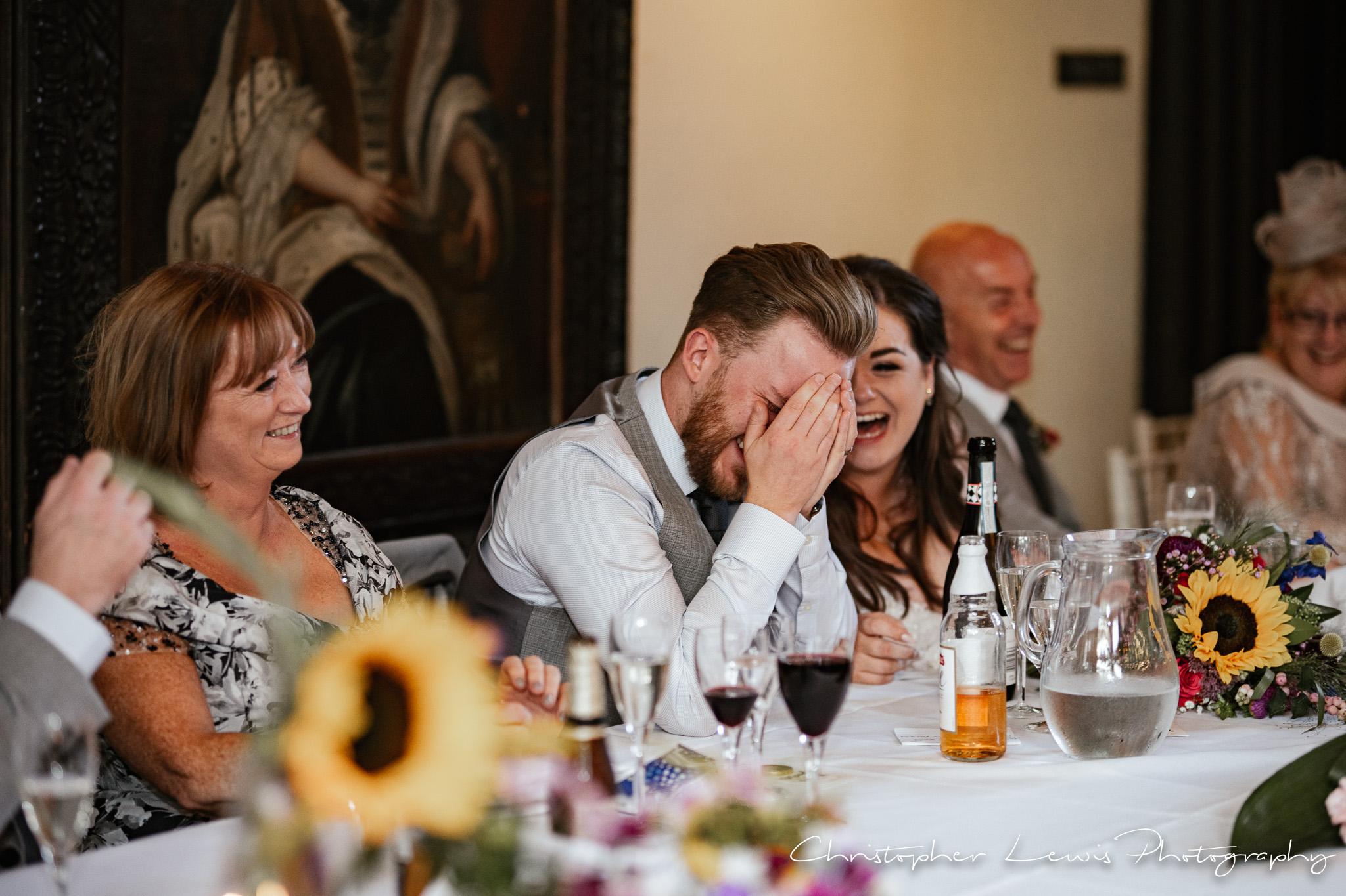 Samlesbury Hall Wedding speeches