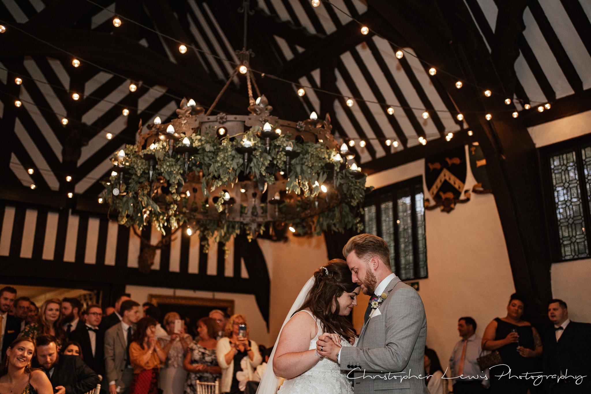 Samlesbury Hall Wedding first dance