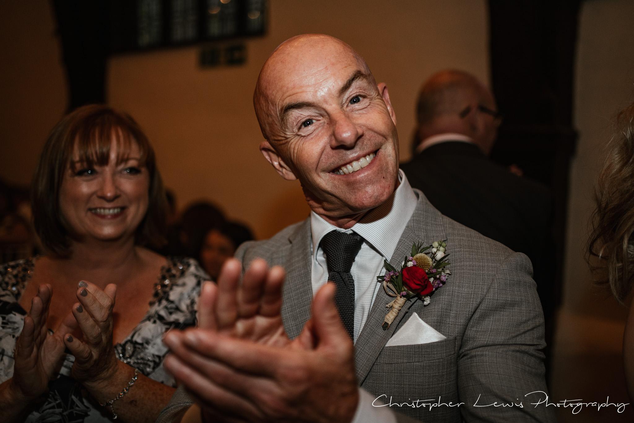 Samlesbury Hall Wedding dancing